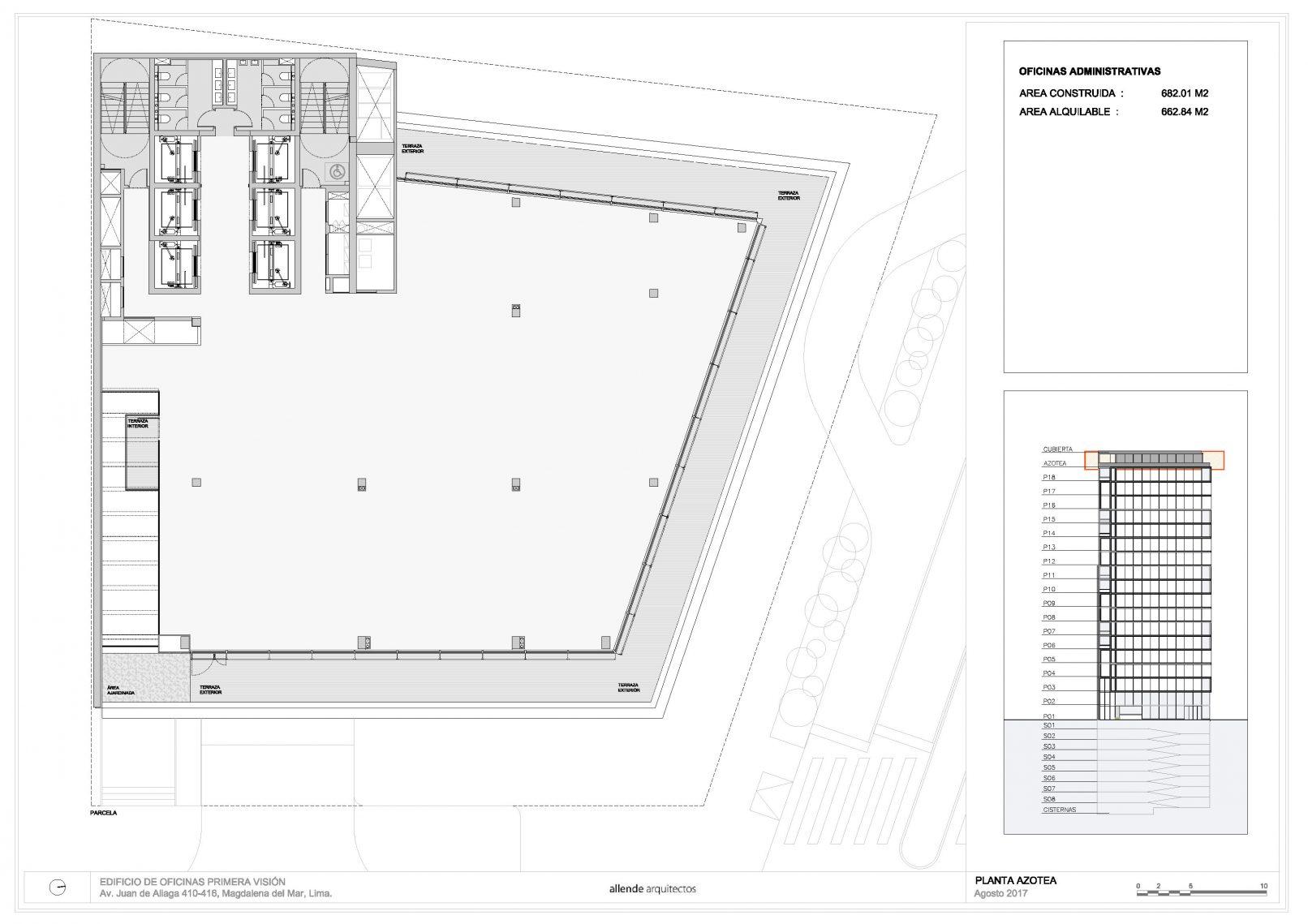 Planos edificioprimeravision for Diseno de oficinas pequenas planos